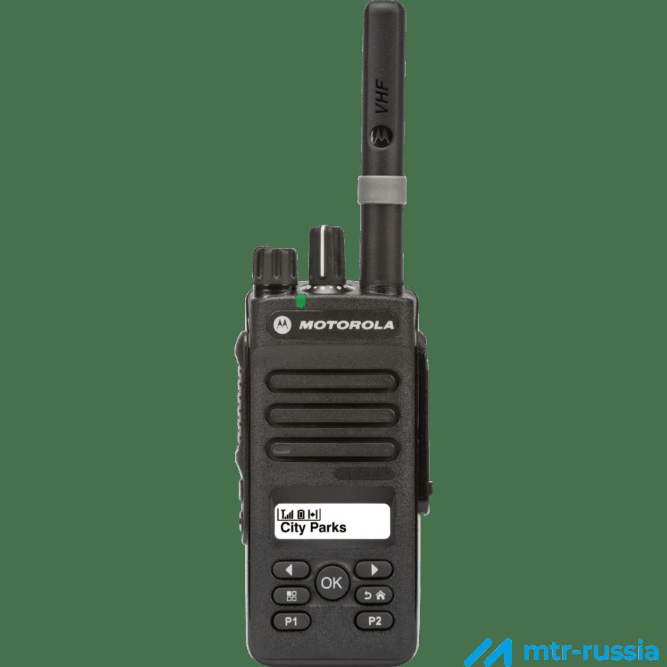 DP2600 403-527 MHz MDH02RDH9JA2_N в фирменном магазине Motorola