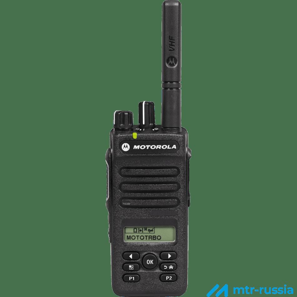 DP2600E цифровая 403-527 MHz MDH02RDH9VA1_N в фирменном магазине Motorola