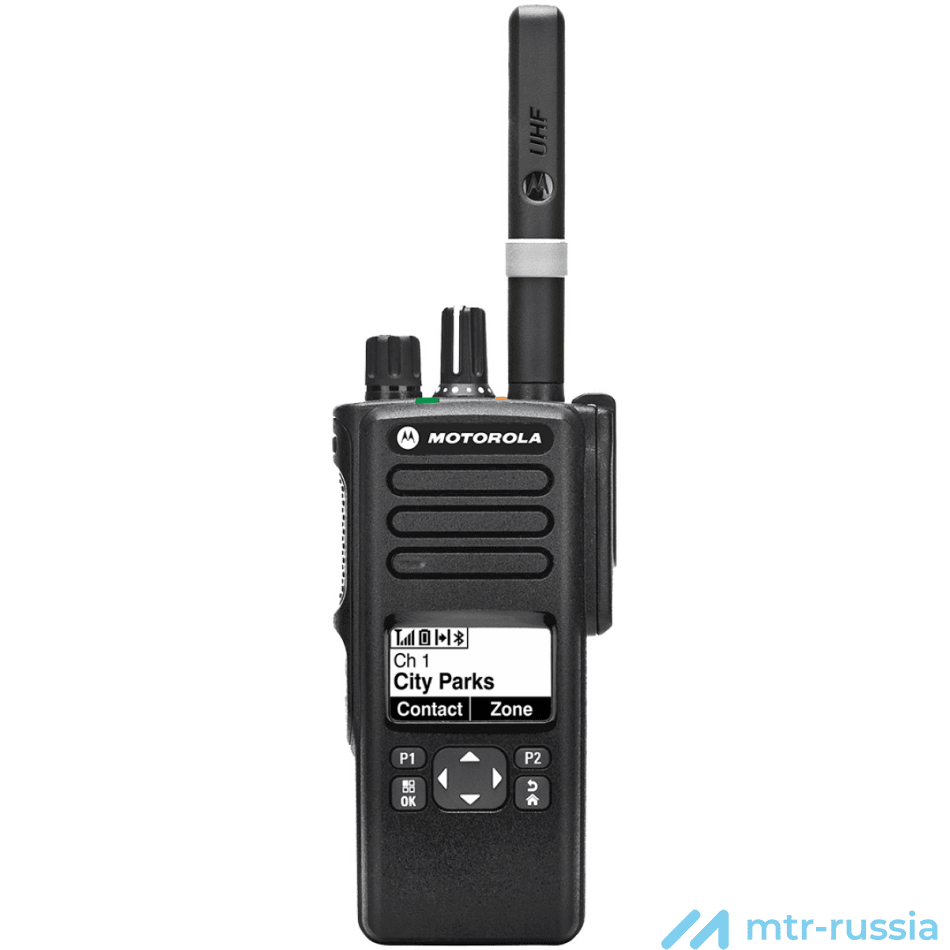 DP4601 цифровая 403-527 MHz MDH56RDH9KA1_N в фирменном магазине Motorola