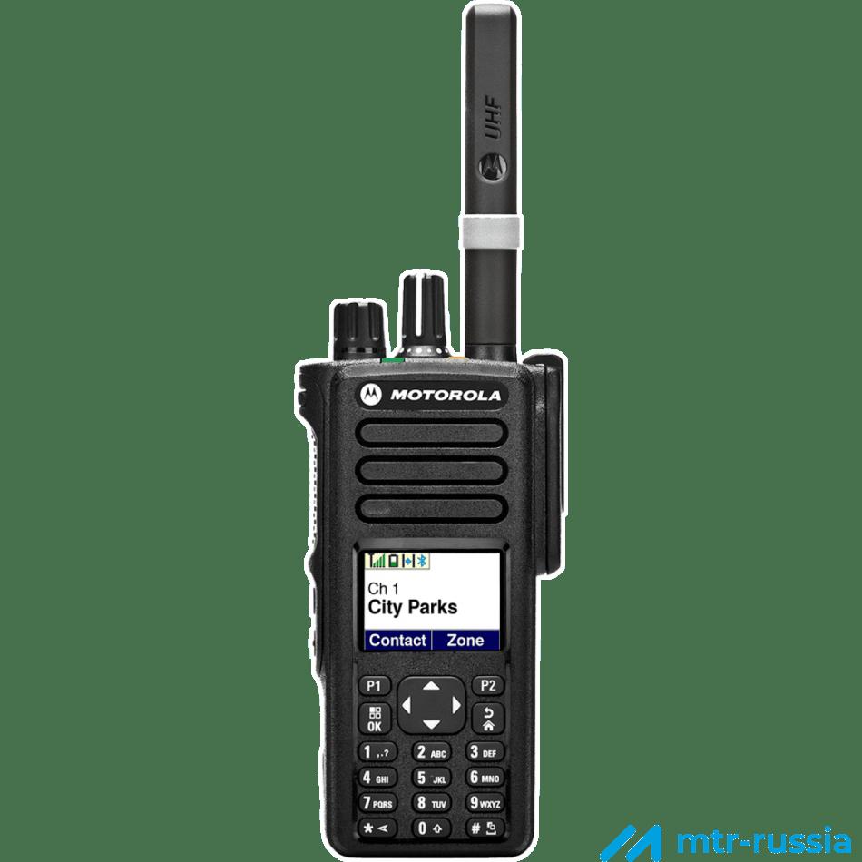 DP4800 цифровая 403-527 MHz MDH56RDN9JA1_N в фирменном магазине Motorola