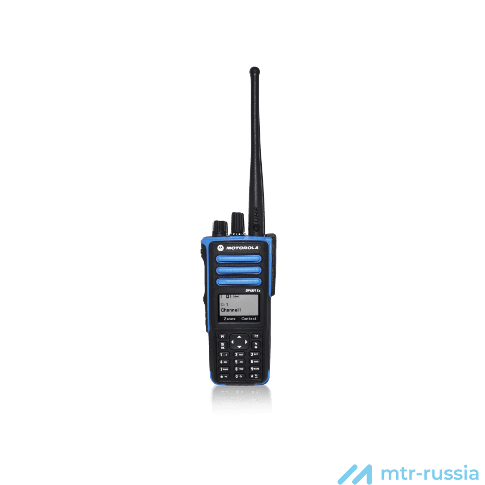 DP4801 ATEX цифро-аналоговая 403-470 MHz MDH56QCN9PA3_N в фирменном магазине Motorola