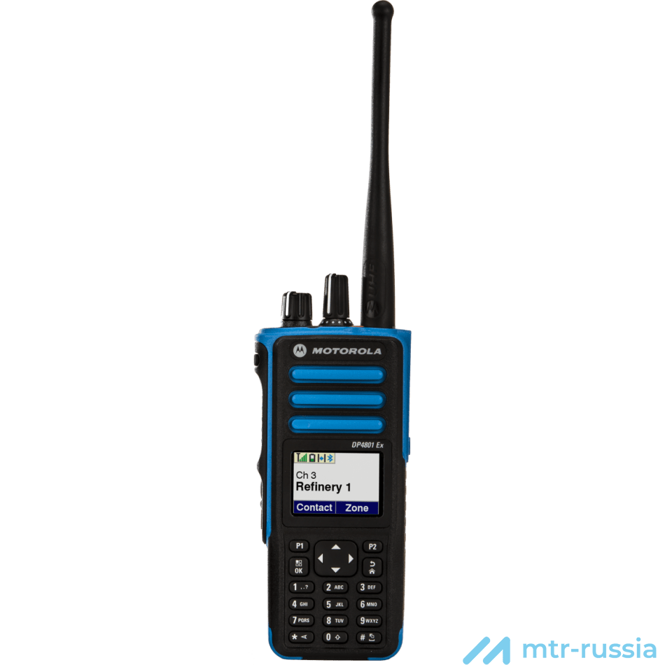 DP4801 ATEX цифровая 403-470 MHz MDH56QCN9QA5_N в фирменном магазине Motorola