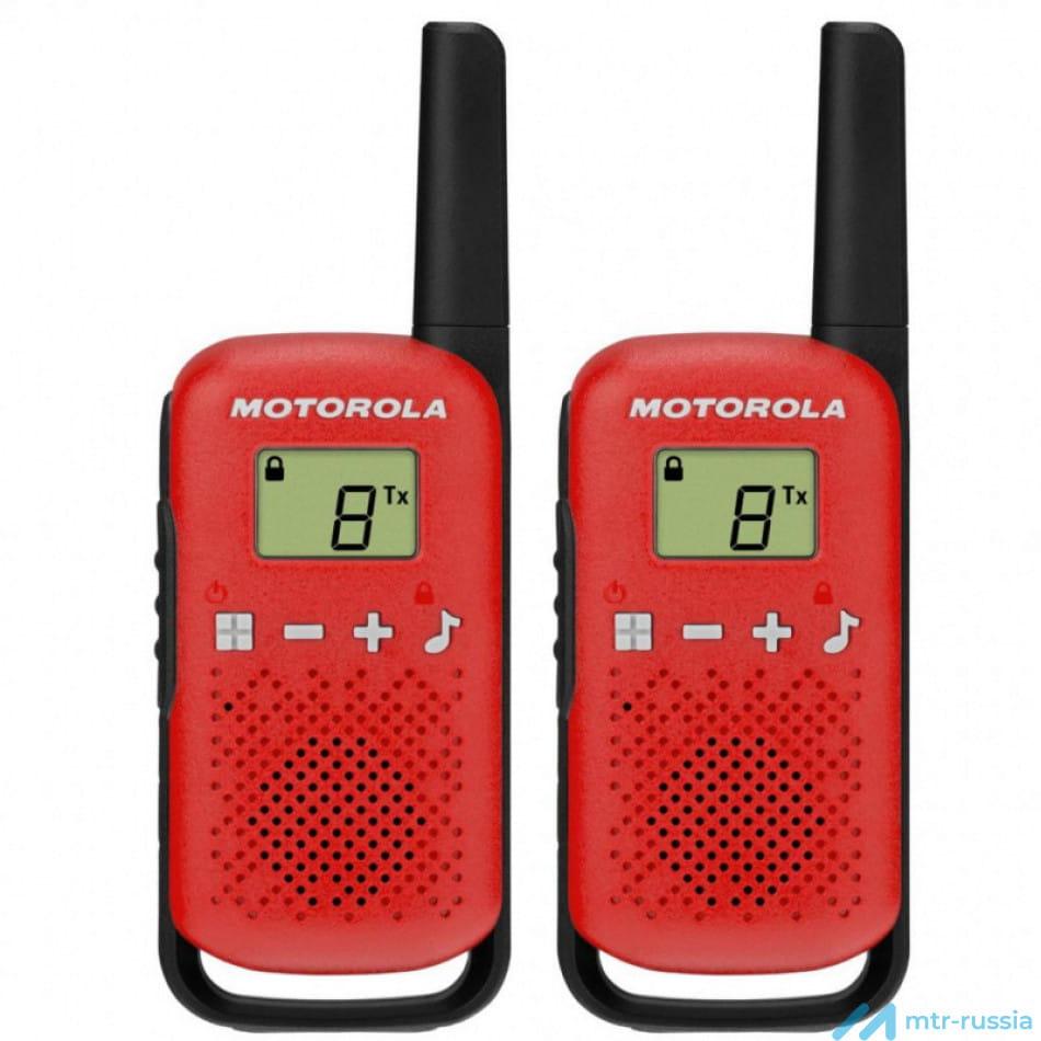 Talkabout T42 RED B4P00811RDKMAW в фирменном магазине Motorola