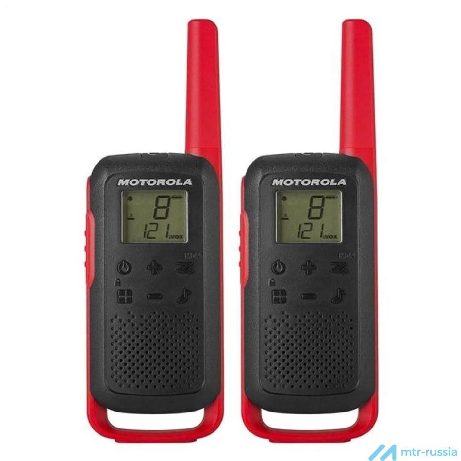 Talkabout T62 RED B6P00811RDRMAW в фирменном магазине Motorola